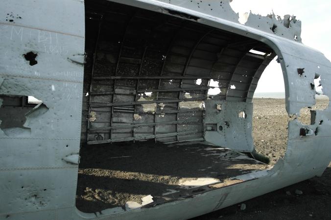 Broken plane interior