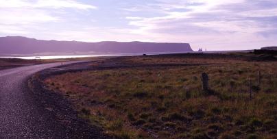 Road before Dyrholaey