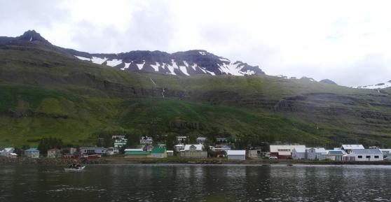 Kayaking in Seyðisfjörður