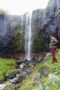 Waterfall near Tvisongur