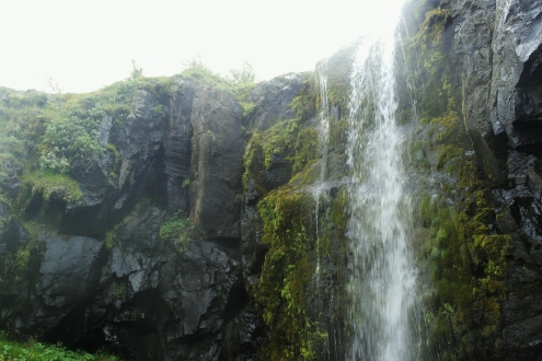 Waterfall near Tvisongur