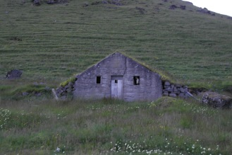 At the base of Eyjafjallajökull